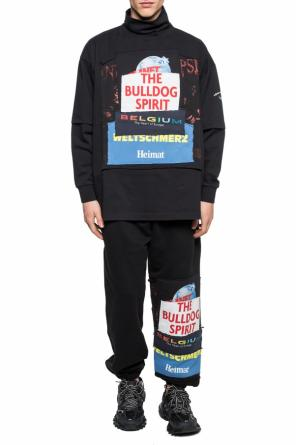 Oversize t-shirt with standing collar od Vetements