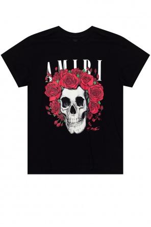 Floral-printed t-shirt od Amiri