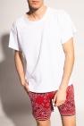 Amiri T-shirt with worn effect