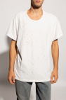 Amiri T-shirt with vintage effect