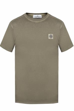 T-shirt with logo od Stone Island