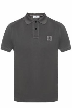 Polo with logo od Stone Island