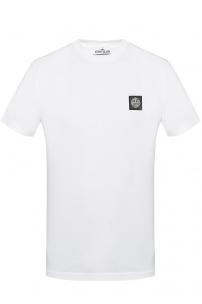 T-shirt with a logo od Stone Island