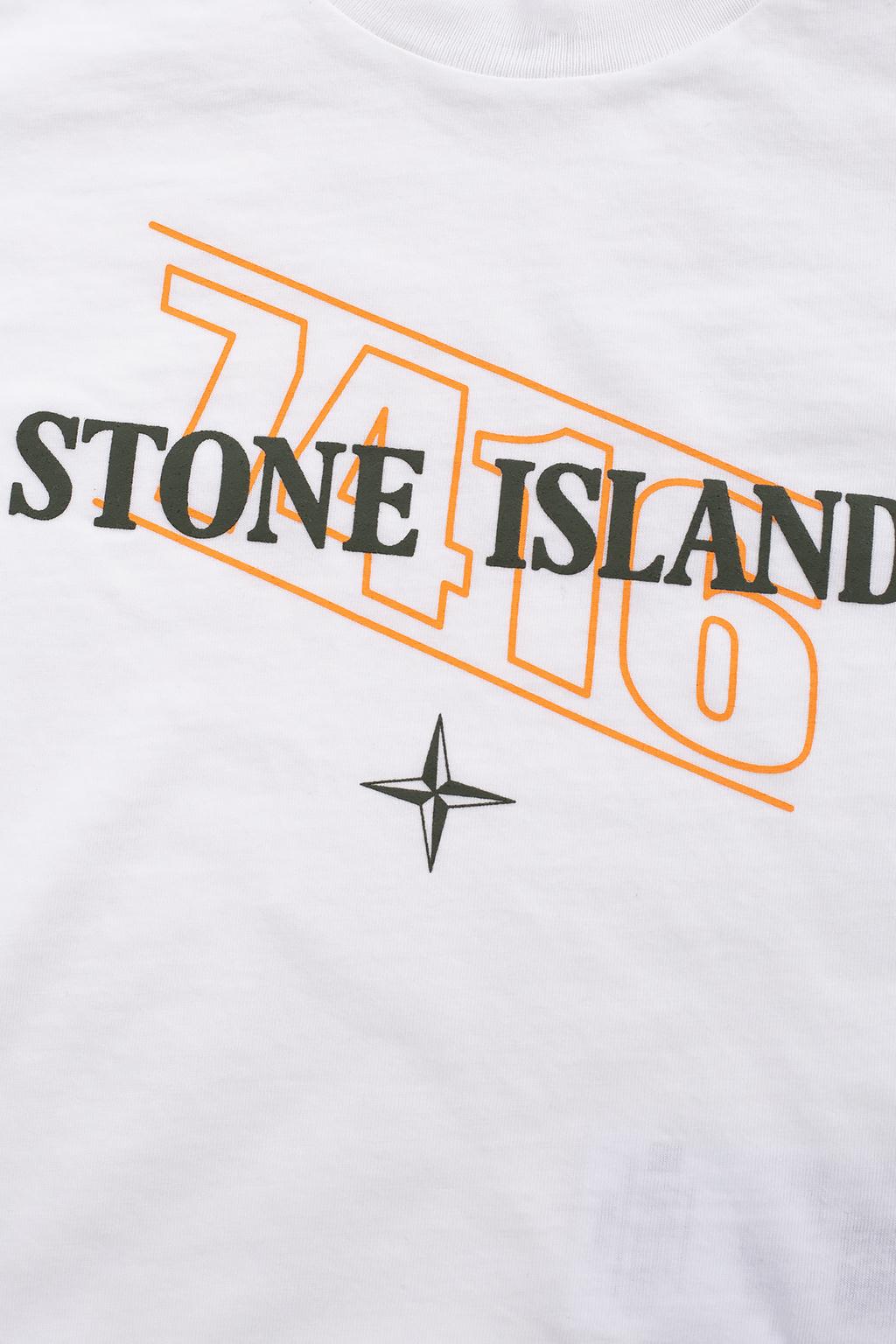 Stone Island Kids T-shirt with logo