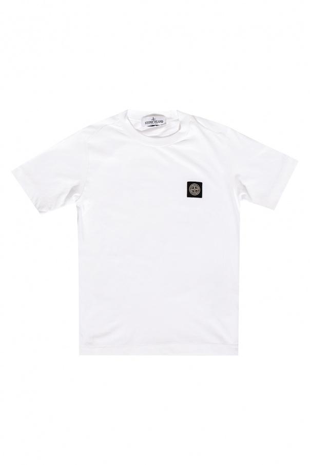 Stone Island Kids Logo T-shirt