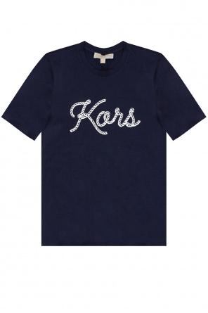 Logo t-shirt od Michael Michael Kors