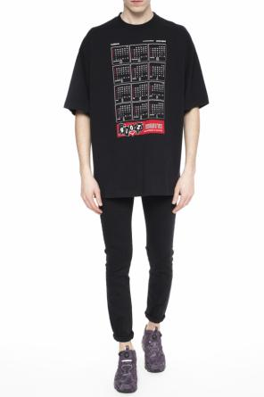 Printed t-shirt od Vetements