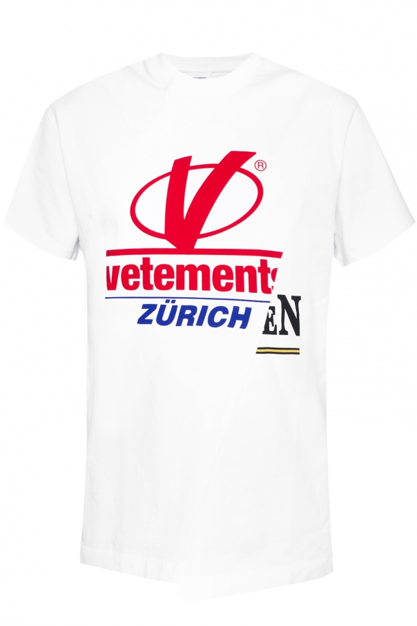 acheter pas cher 4849d 24e9e T-shirt z logo Vetements - sklep internetowy Vitkac