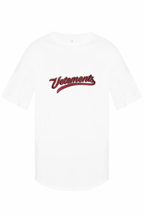 4eab407e568 Logo T-shirt Vetements - Vitkac shop online