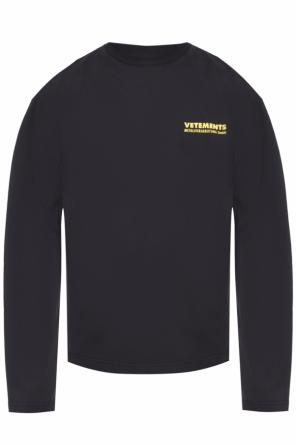 Sweatshirt with printed logo od Vetements