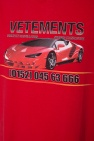 Printed oversize t-shirt od Vetements