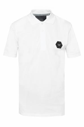 Logo-patched polo od Philipp Plein