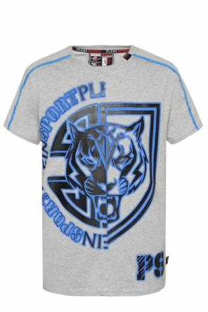 Patterned t-shirt od Plein Sport