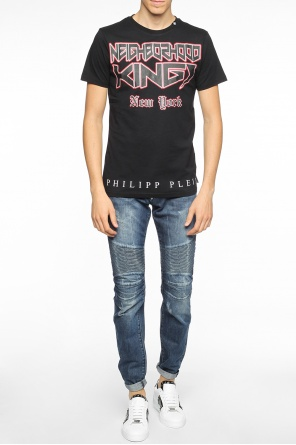 Printed t-shirt with inscriptions od Philipp Plein