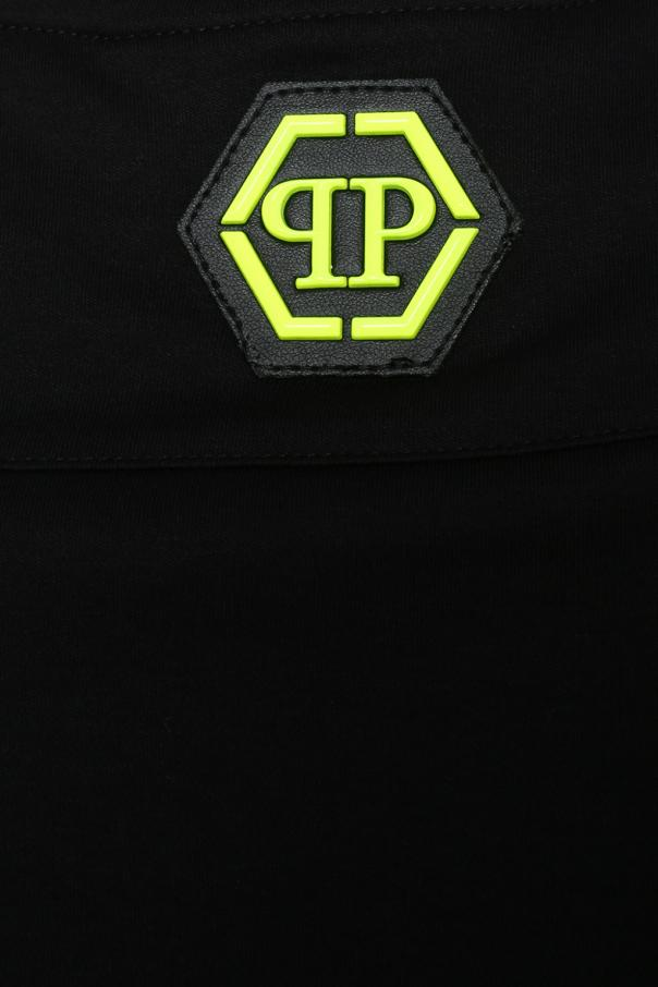 t shirt z neonowym logo philipp plein sklep internetowy vitkac. Black Bedroom Furniture Sets. Home Design Ideas