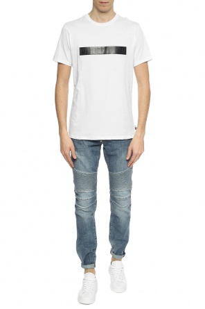 T-shirt with logo insert od Philipp Plein