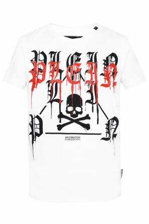 T-shirt with rubber logo od Philipp Plein