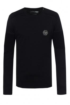 T-shirt with metal logo od Philipp Plein
