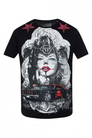 Patterned t-shirt od Philipp Plein