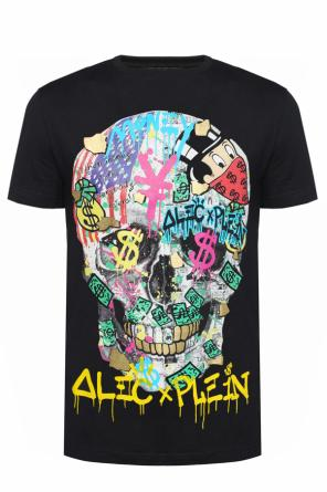 Colourful-printed t-shirt od Philipp Plein