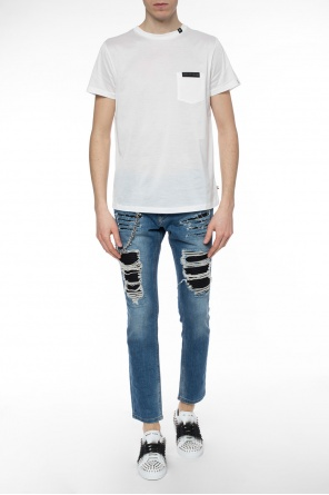 Logo-patched t-shirt od Philipp Plein