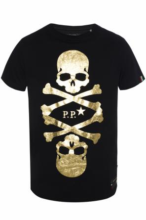 T-shirt with print and logo od Philipp Plein