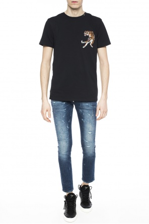 Embroidered logo t-shirt od Philipp Plein
