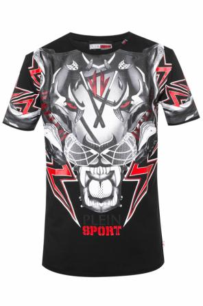 Tiger head t-shirt od Plein Sport