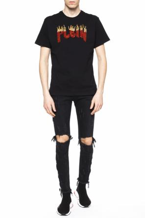 Encrusted t-shirt od Philipp Plein