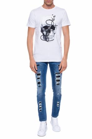 Logo-embroidered t-shirt od Philipp Plein