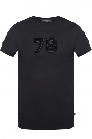 T-shirt with embroidered logo od Philipp Plein