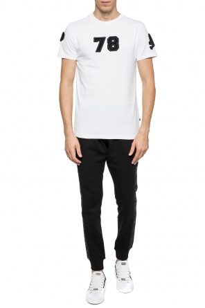Patched t-shirt od Philipp Plein