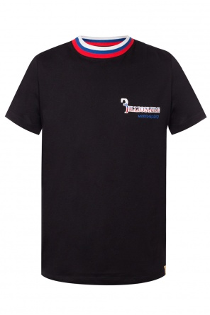 City' t-shirt with sewn-on applications od Billionaire