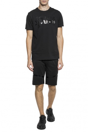 T-shirt with a printed logo od Philipp Plein