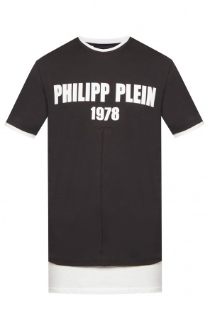 Double-layered t-shirt od Philipp Plein