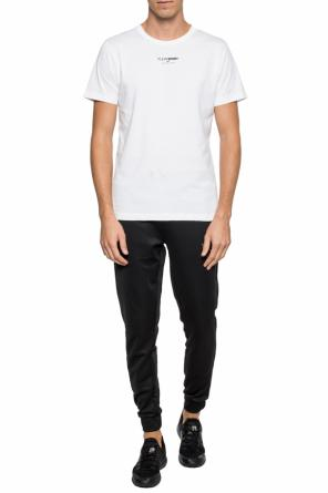 T-shirt with a printed logo od Plein Sport