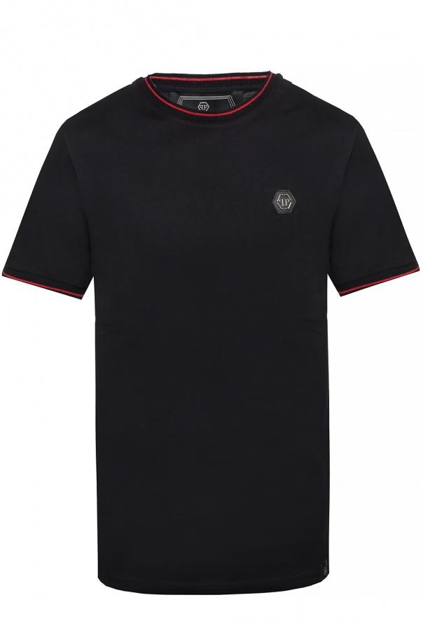 Philipp Plein T-shirt with logo plaque