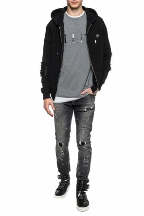 Double-layered t-shirt with logo od Philipp Plein
