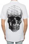 Philipp Plein Skull motif polo