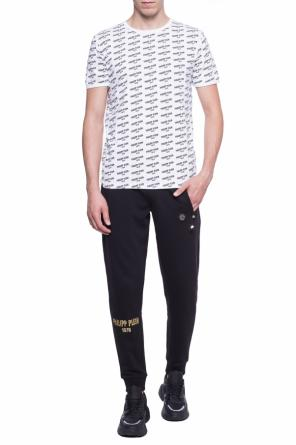 Logo-patterned t-shirt od Philipp Plein