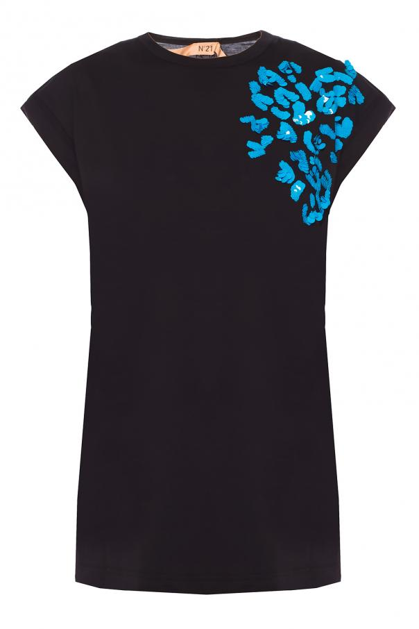 Sequinned t-shirt od N21