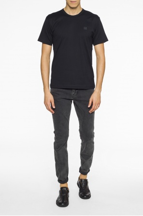 Patched t-shirt od Acne