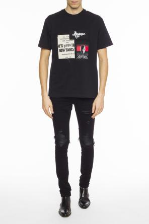 Patched t-shirt od MISBHV