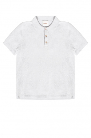 Polo shirt with short sleeves od Nanushka