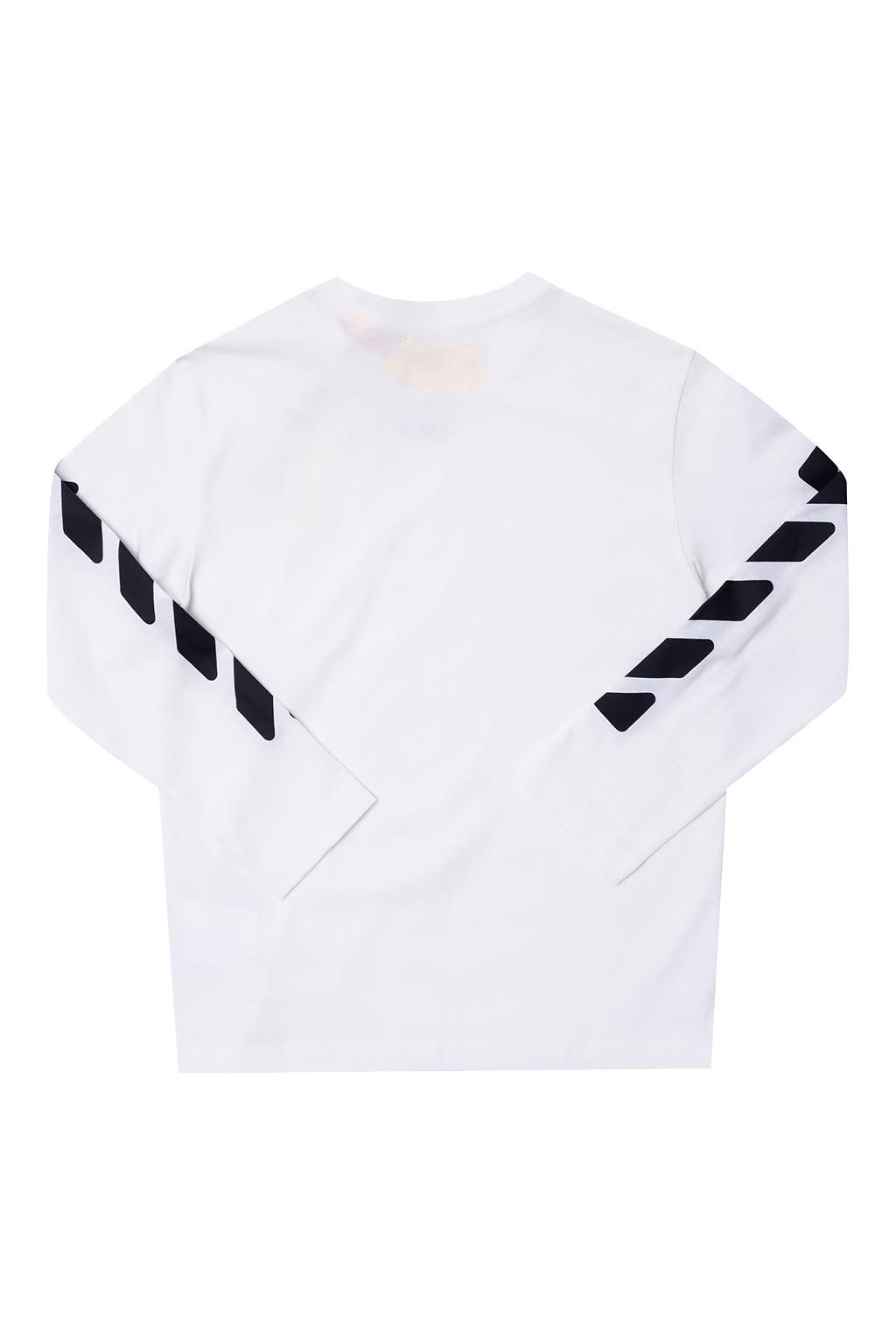 Off-White Kids Long-sleeved T-shirt