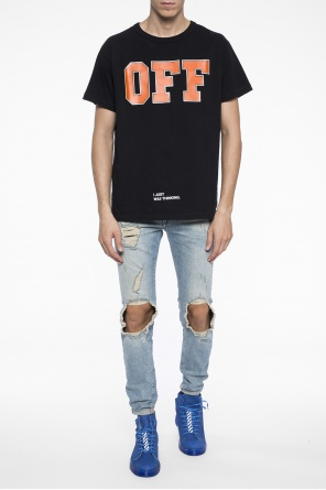 Printed t-shirt od Off White