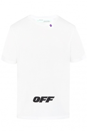 Printed oversize t-shirt od Off White