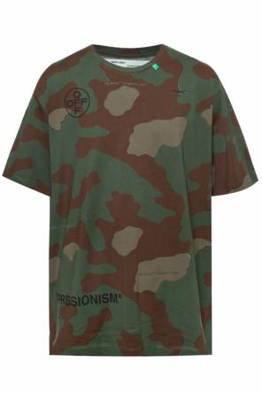Camo pattern t-shirt od Off White