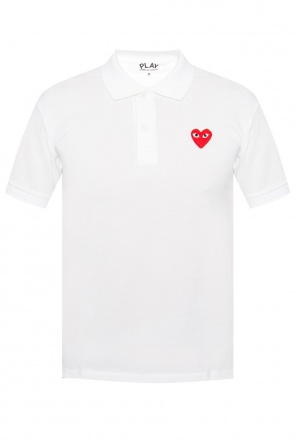 Logo-patched polo shirt od Comme des Garcons Play