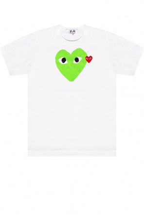 T-shirt z nadrukiem od Comme des Garcons Play